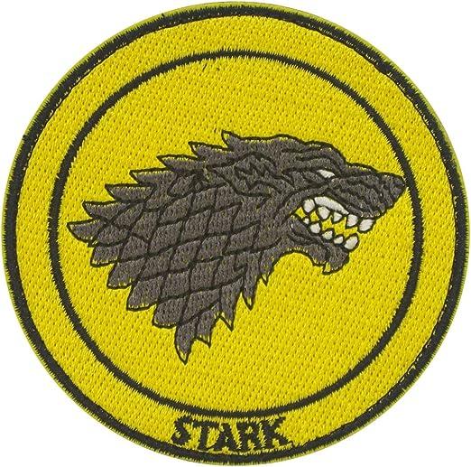 Cobra Tactical Solutions Game of Thrones Stark Parche Bordado Táctico Moral Militar con Cinta adherente de Airsoft Paintball para Ropa de Mochila Táctica: Amazon.es: Hogar