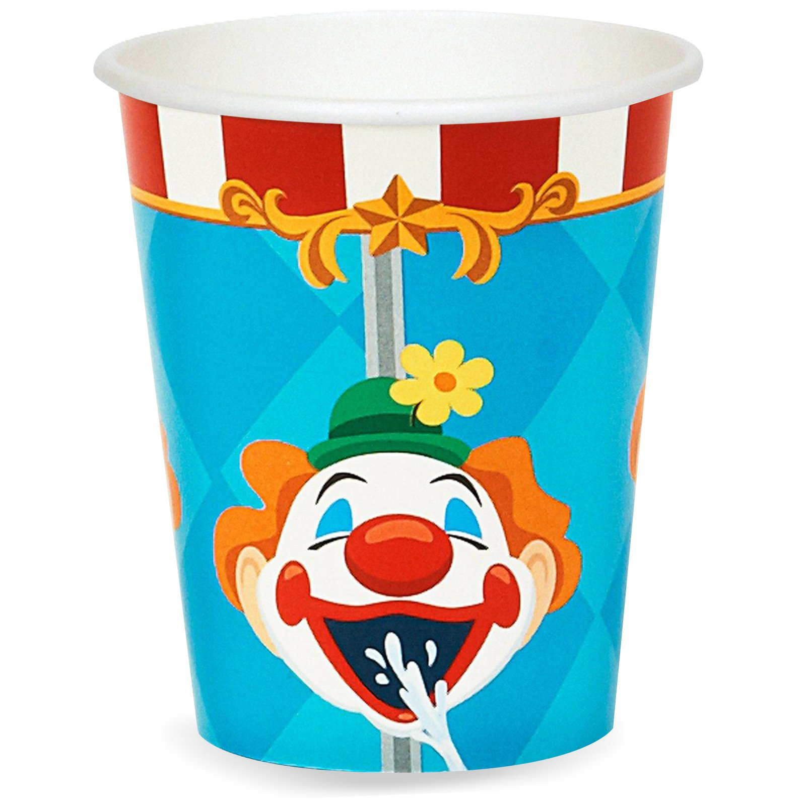 BirthdayExpress Carnival Games 9 oz. Paper Cups (16)