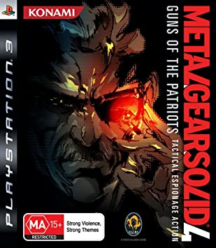 Metal Gear Solid 4 Guns Of The Patriots Ps3 Ver. Reino Unid ...