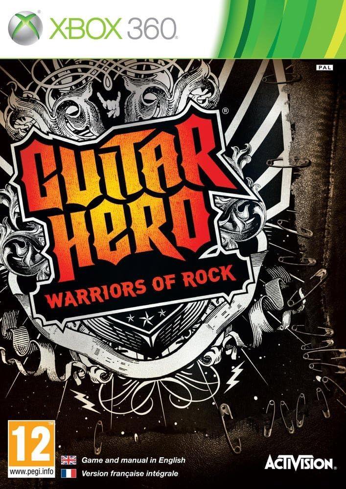 Guitar Hero 6: Warriors of Rock - Game Only (Xbox 360) [Importación inglesa]