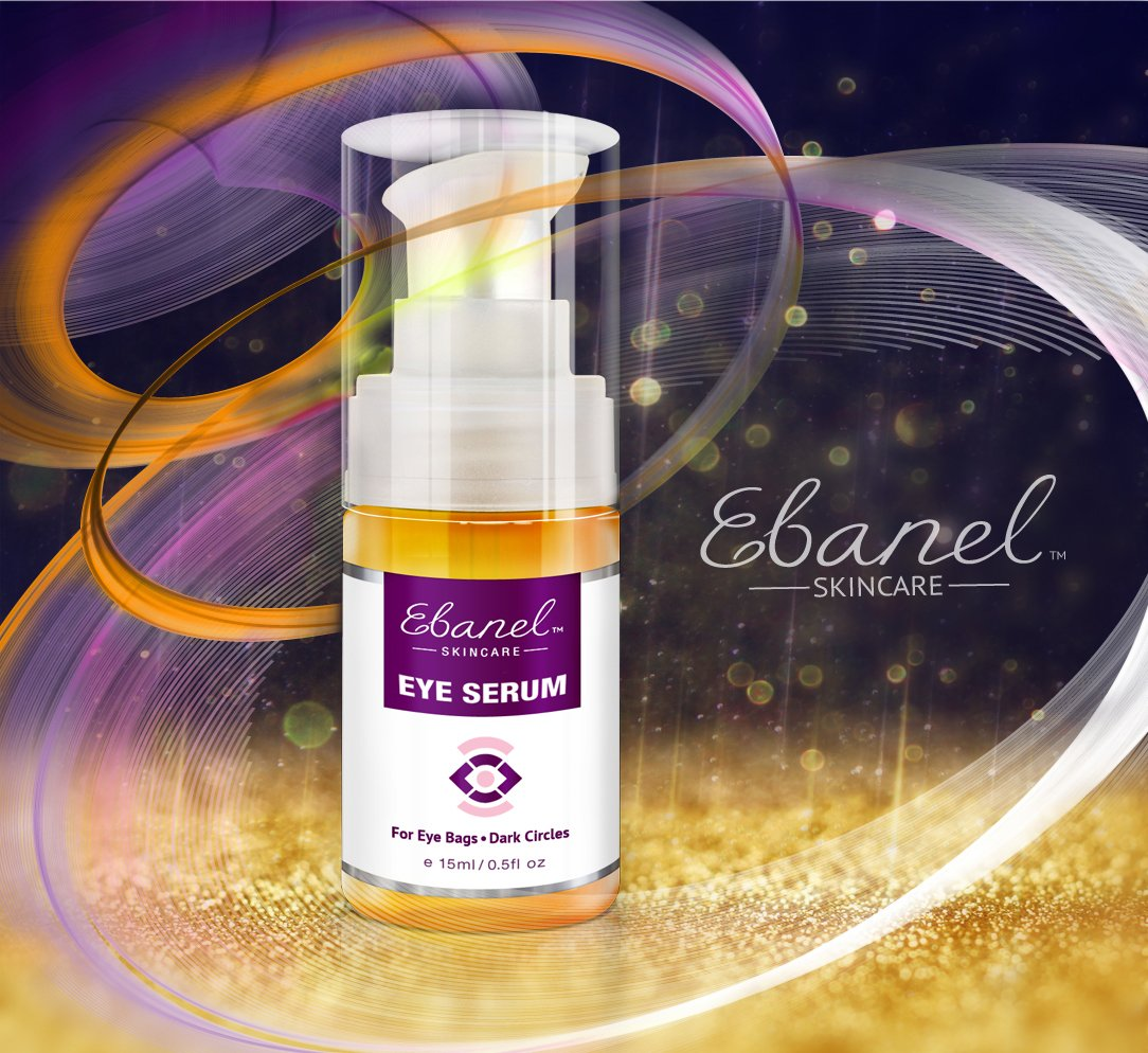 (2 Pack) Eye Serum for Puffiness Dark Circles Eye Bags & Wrinkles – The Ultimate Natural Eye Cream to Recapture Youth