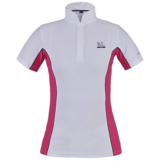 Kingsland Benissa Show Womens Shirt Competition Pink Carmine All Sizes
