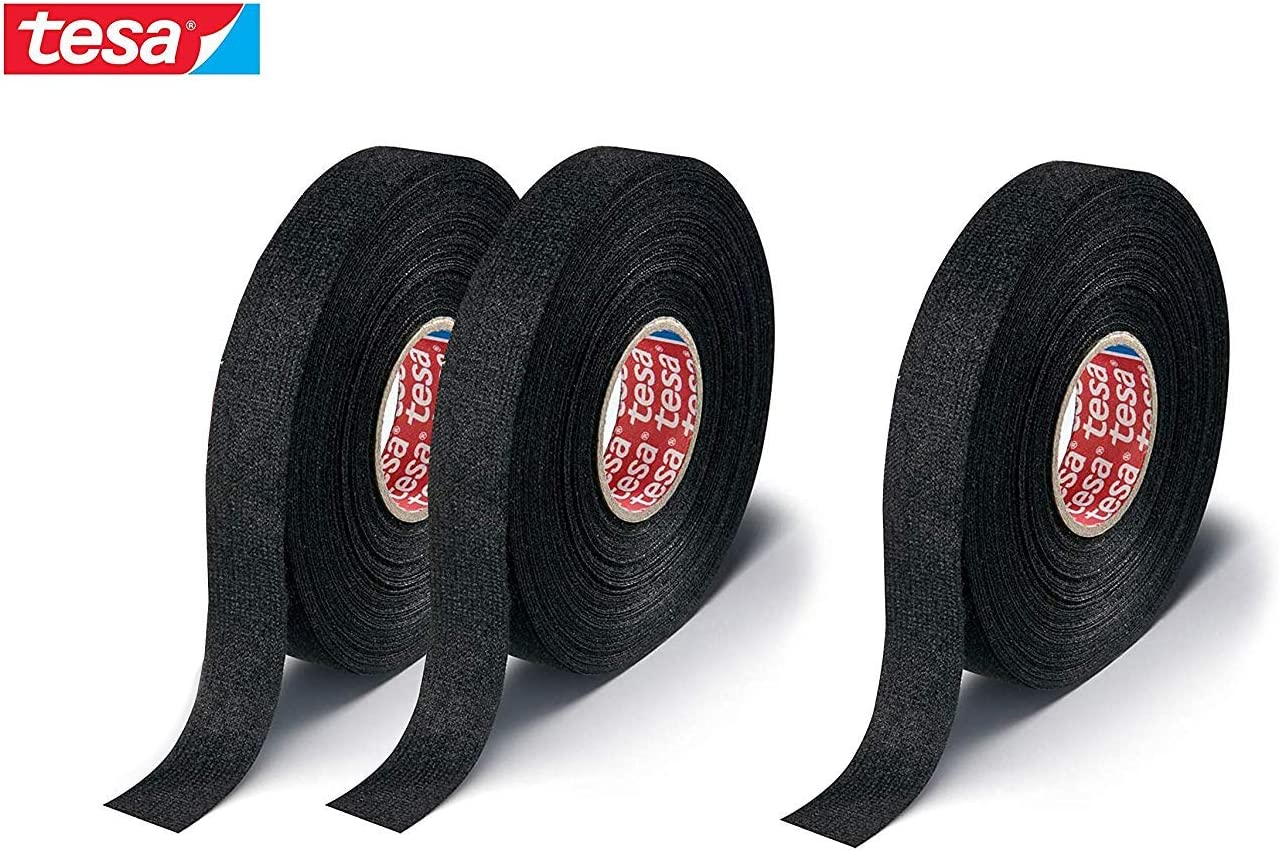Tesa 51608 25m x 19mm adhesive wiring cloth tape original ISOBAND 3 pcs pack