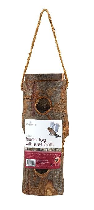 4 opinioni per Chapelwood- Mangiatoia per uccelli (incluse 4 gnocchi di mangime)
