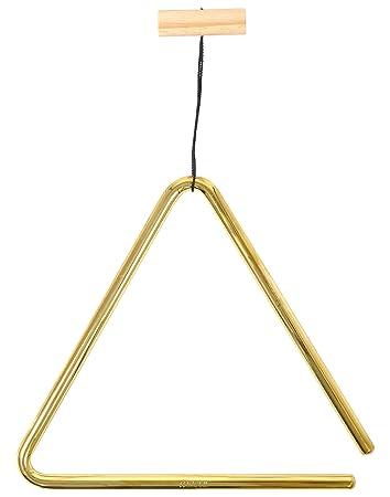Meinl Percussion Tri20b Triangel  Zoll Durchmesser Messing