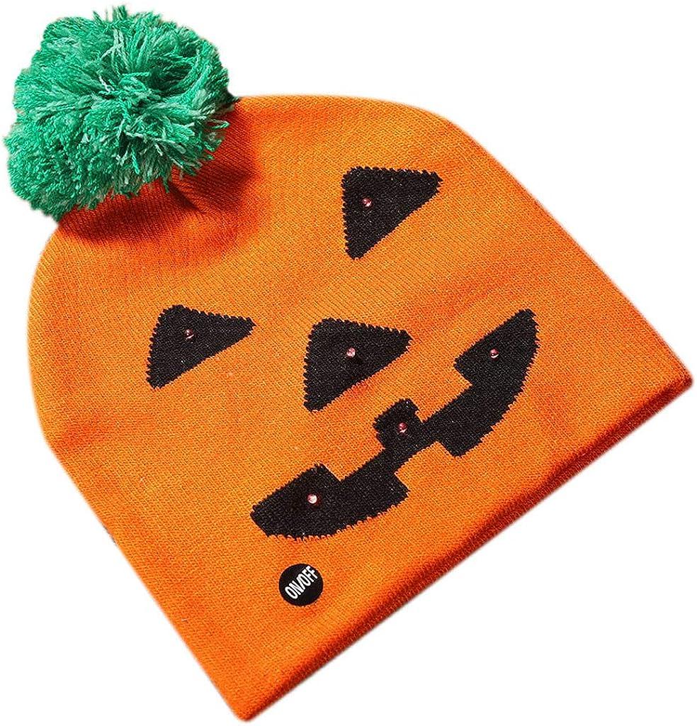 Halloween Shiny Knit Hat...