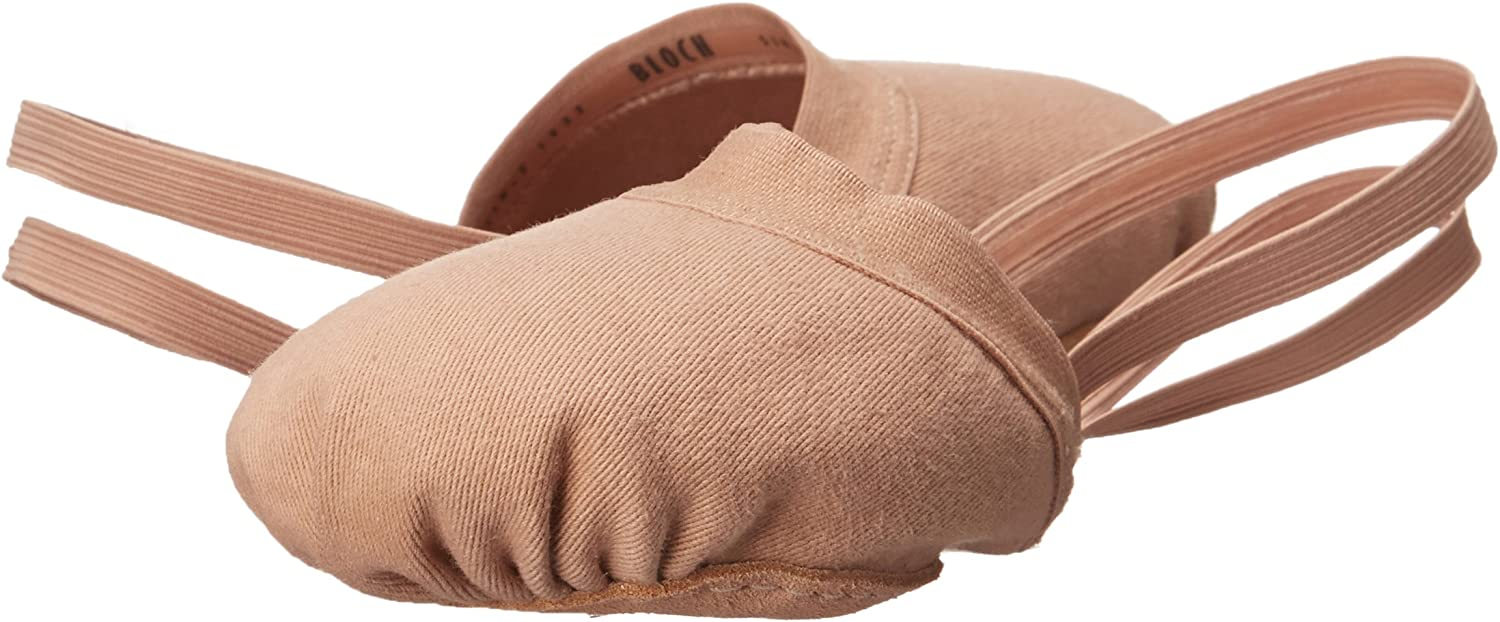 Bloch Spin II Half Ballet Shoe with Strap
