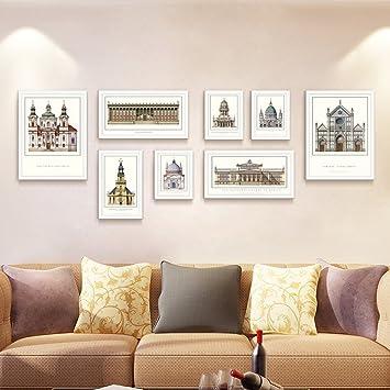 ZPQ Fotowand Foto-Wand, Europäische Einfache Moderne ...