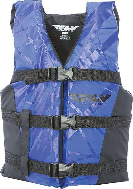 Fly Racing Unisex-Adult Nylon Vest Blue//Black Youth 221-20103
