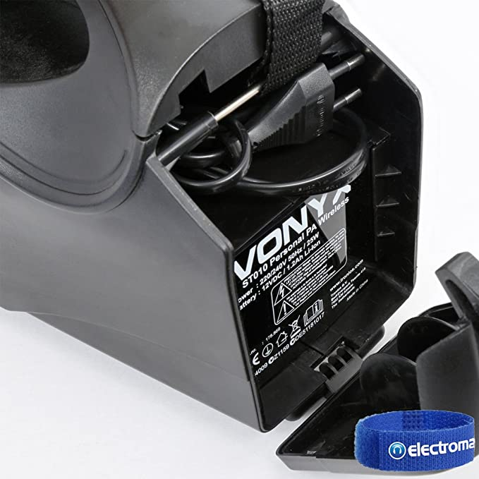 Vonyx ST-010 Portable Bluetooth PA Wireless Handheld  Amazon.co.uk   Electronics 370e73a5376ae