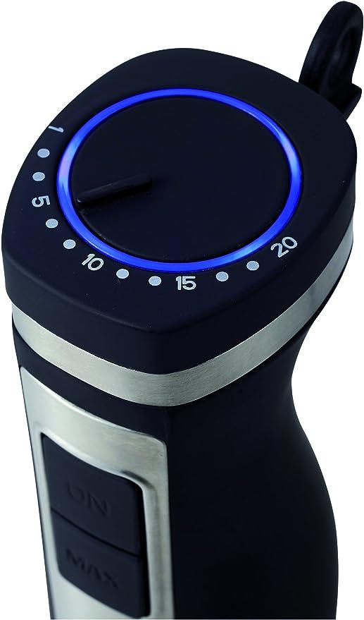 Batidora de mano profesional de 1100W con control de velocidad y panel de acero inoxidable: Amazon.es: Hogar