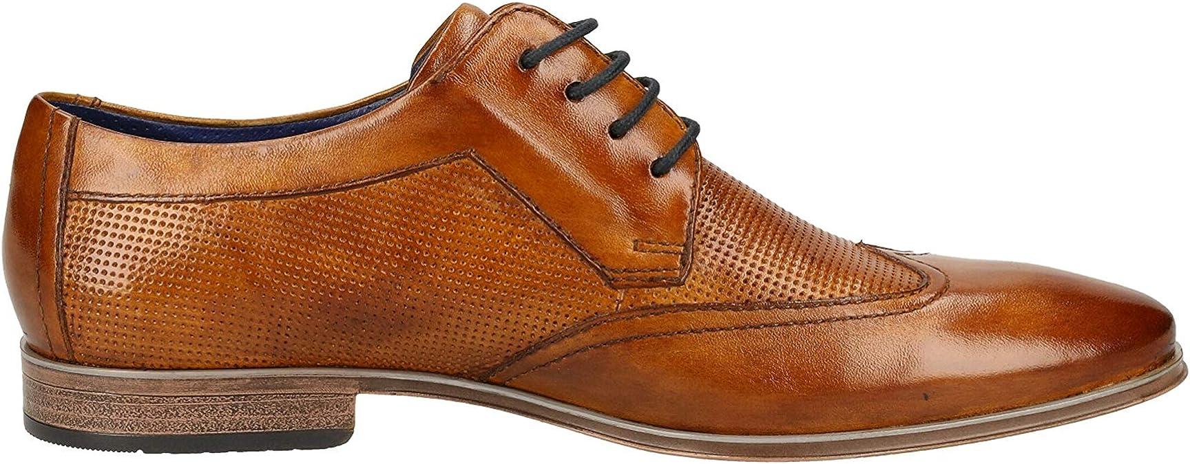 Bugatti Martin Hommes Chaussures Basses Chaussure Lacée Business 311-26261-1010-6341 Marron
