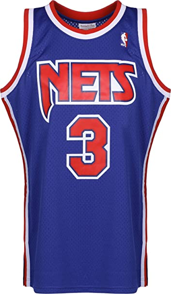 Mitchell & Ness Camiseta NBA New Jersey Nets DRAZEN Petrovic 3 ...