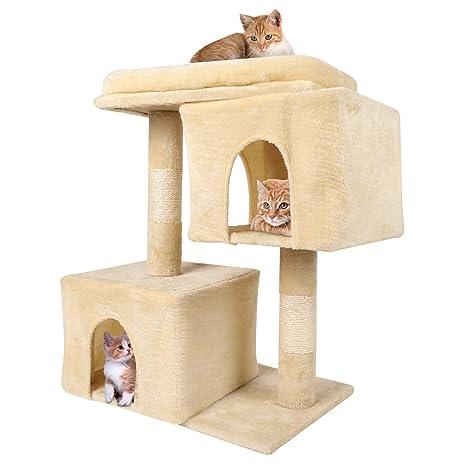 Amazon.com: ViFun Árbol para gatos grandes, casa de ...