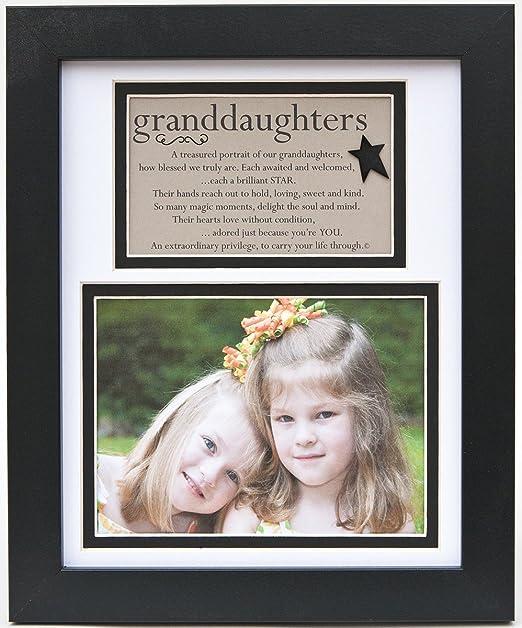 Amazon.com : The Grandparent Gift Frame Wall Decor, Granddaughters ...