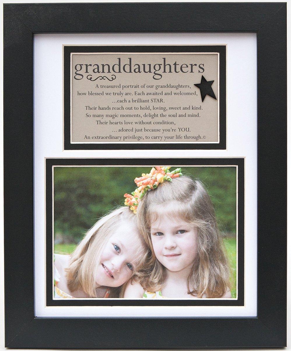 The Grandparent Gift Frame Wall Decor, Granddaughters Gift for Grandma and Grandpa