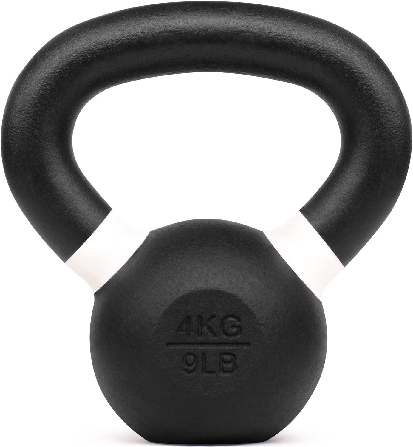 Solid Cast Iron powder coated Kettlebell Workout 5 lb