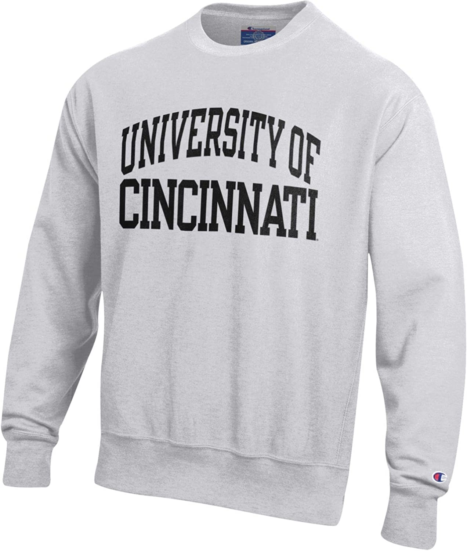 Champion Mens NCAA Reverse Weave Crew