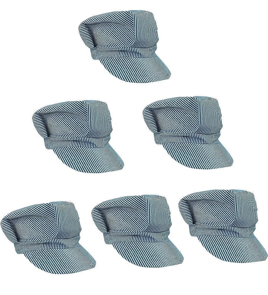 Adjustable Train Engineer Hats Costume Image 1