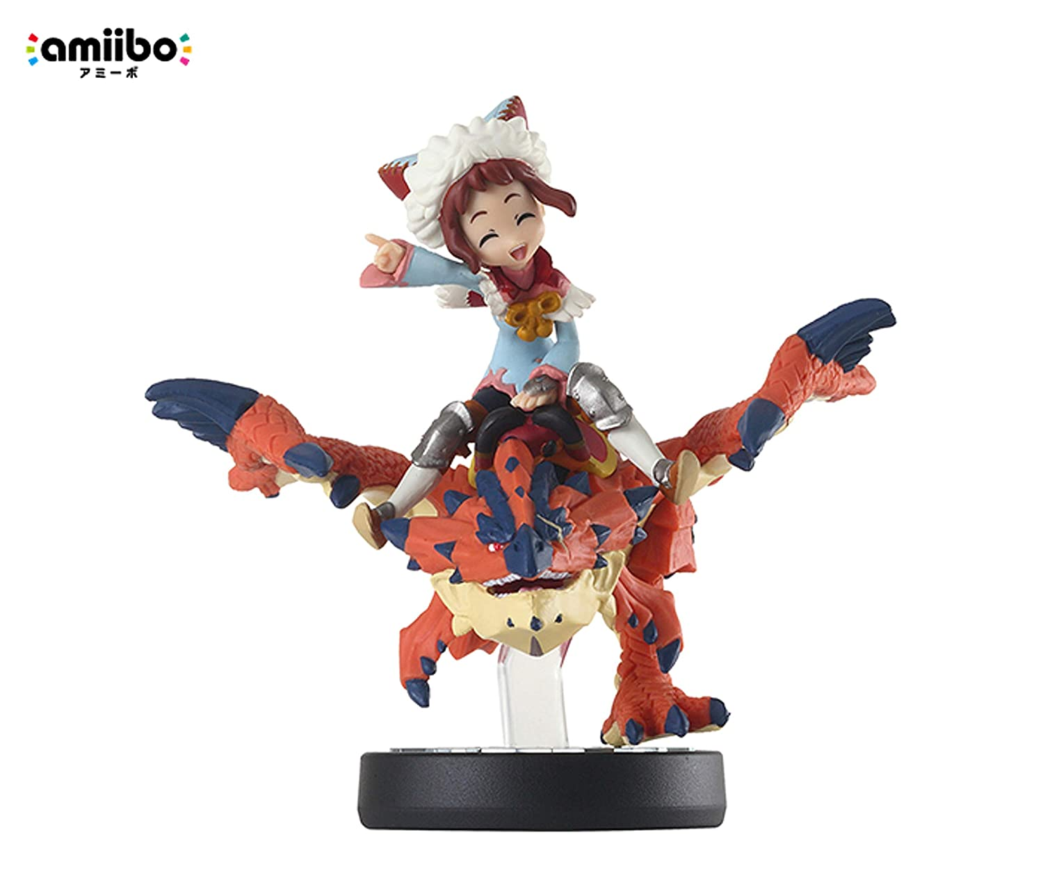 Amazon Com One Eyed Rathalos And Rider Female Monster Hunter