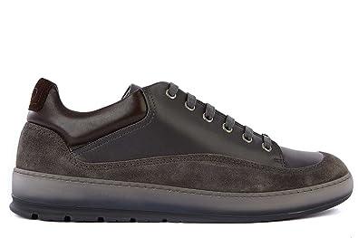 0582d6be0d2 Dior chaussures baskets sneakers homme en cuir gris EU 44 3SN075VPJ ...