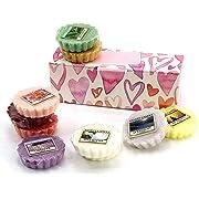YANKEE CANDLE 10 x fondenti en boîte Cadeau Cœurs