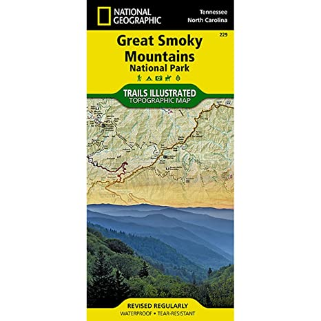 Amazon Trails Illustrated Great Smoky Mountains National Park