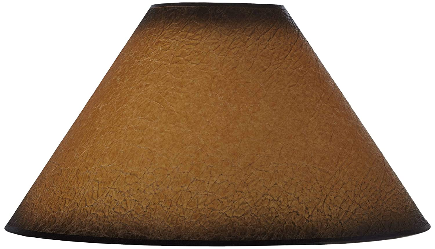 Distressed Faux Paper Lamp Shade 6x19x12 (Spider) - Brentwood