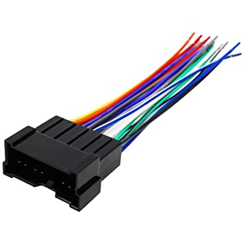 71zM1RybbBL._SY355_ amazon com replacement radio wiring harness for 2004 hyundai Automotive Wire Harness Kits at soozxer.org