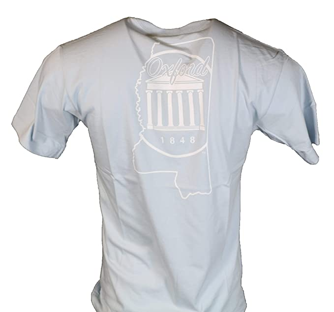 Ole Miss College Town Proper Cotton T Shirt Chambray At Amazon