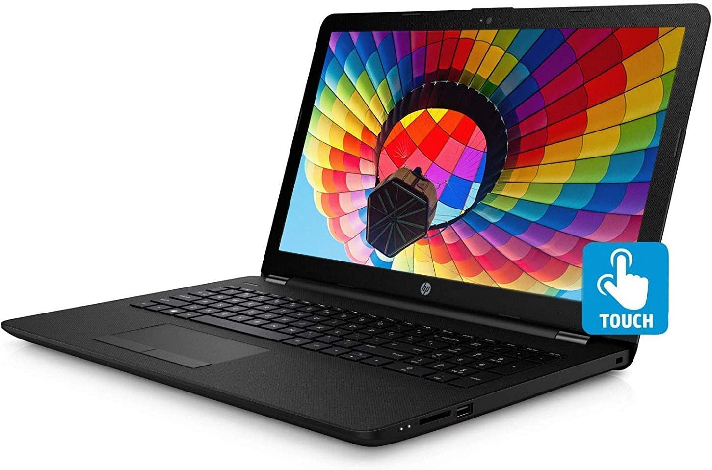 "HP 15.6"" HD 2019 New Touch-Screen Laptop Notebook Computer, Intel Pentium Quad-Core N5000 (up to 2.7 GHz), 8GB DDR4, 1TB HDD, Bluetooth, Wi-Fi, HDMI, Webcam, Win 10 (Renewed)"