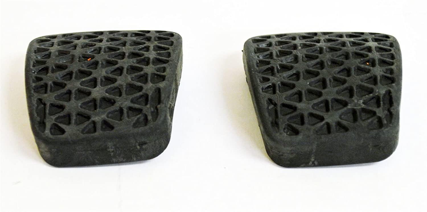 90498309 : PAIR OF BRAKE/CLUTCH RUBBER PEDAL PADS/COVERS (x2) - NEW from LSC Premium Aftermarket