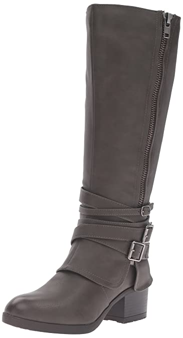 Material Girl Womens MINI Round Toe Ankle Fashion Boots Brown Size 5.0 nWRl