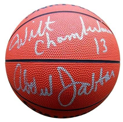 Autographed Kareem Abdul-Jabbar Basketball - Wilt Chamberlain Jabar  Spalding Fanatics - Fanatics Authentic Certified 1f772d529