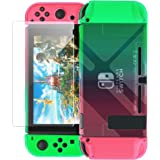 Dockable Case Compatible with Nintendo Switch,FYOUNG Protective Accessories Cover Case Compatible with Nintendo Switch