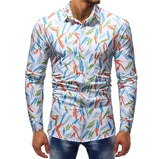 Polo, Camisetas, Blusa,BaZhaHei, Camisetas de Hombre Blusa Impresa de la Manera del Hombre Camisas Ocasionales de Manga Larga de Hombre de Camiseta de Manga ...