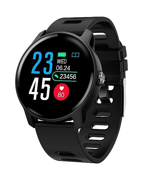Amazon.com : S08 Smart Watch IP68 Waterproof Heart Rate ...