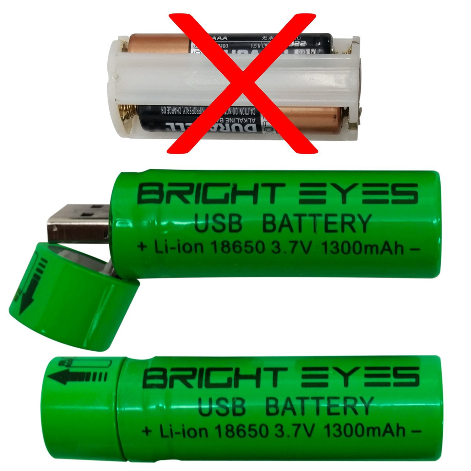 bright eyes aaa battery holder replacement rechargeable