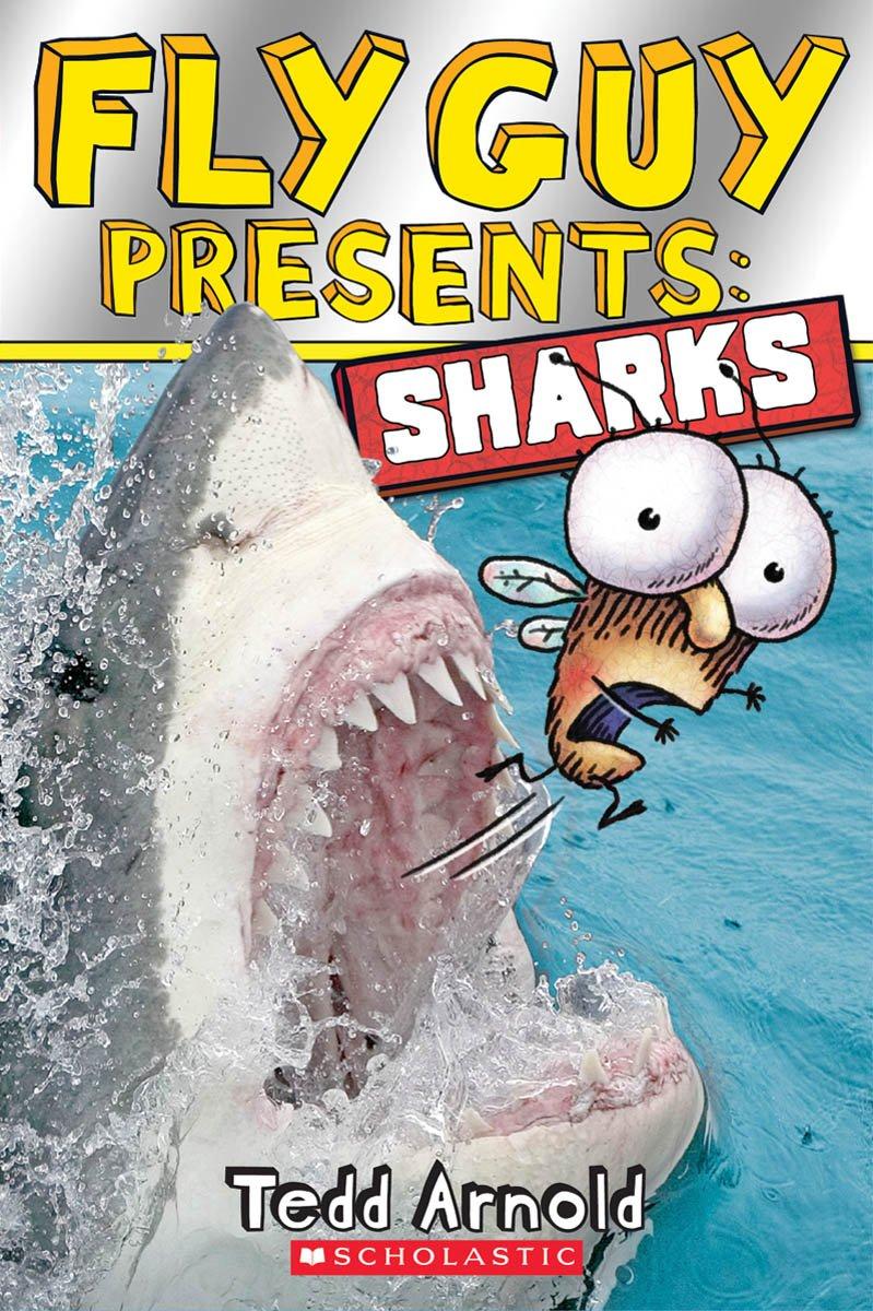 Amazon.com: Fly Guy Presents: Sharks (Scholastic Reader, Level 2)  (9780545507714): Tedd Arnold: Books