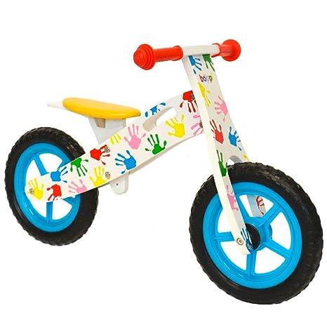 boppi® Bici sin Pedales de Madera para niños de 2-5 años - Manos ...