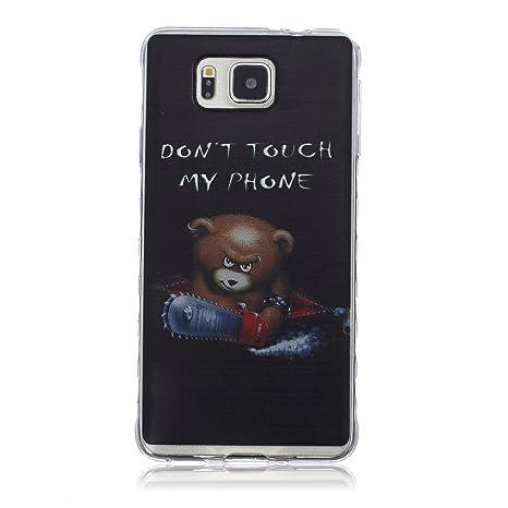 Funda CaseHome Samsung Galaxy Alpha G850F Silicone Gel ...