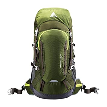 7c7838d6e814 Light trekking backpack with back ventilation for ladies and men, 45 ...