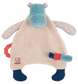 Amazon.com: Hipopótamo Chupete Lovey Les papoum: Baby