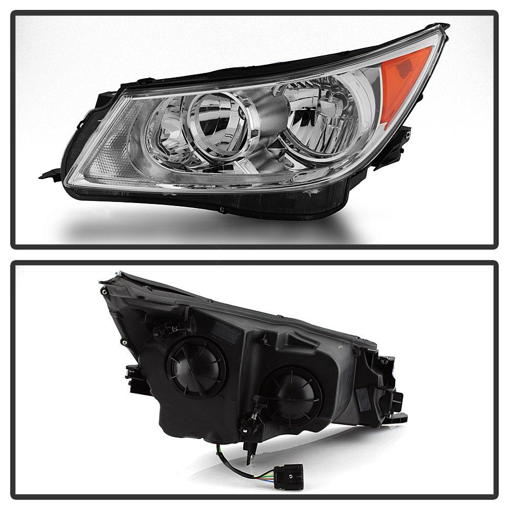 Buick LaCrosse: Base Headlamp Assembly