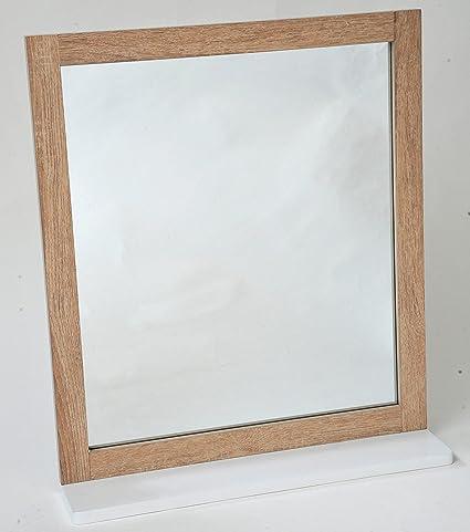 TENDANCE Stockholm MDF Specchio con ripiano 3ad8715e0635