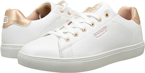 Dockers by Gerli Damen 38PD205 610592 Sneakers, Weiß (Weiss