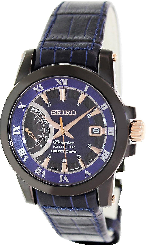 [セイコー]Seiko 腕時計 Premier Kinetic Direct Drive Kinetic Watch SRG012 メンズ [並行輸入品] B00X624DSO