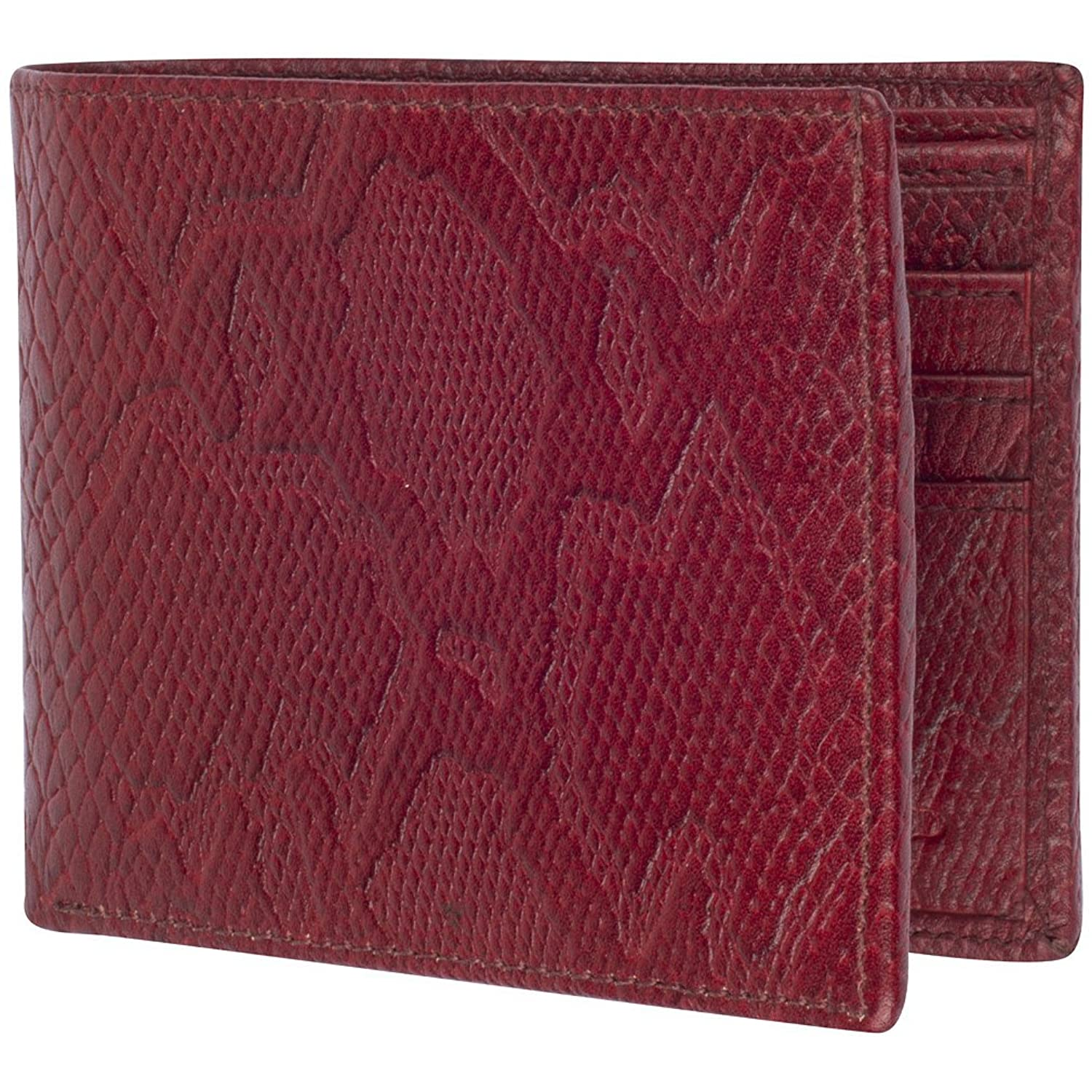 Access Denied Mens Leather RFID Blocking Wallet Bifold