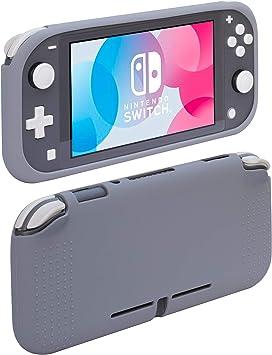 ButterFox - Carcasa de Silicona para Nintendo Switch Lite, Color Gris: Amazon.es: Electrónica