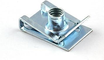 10x Blechmutter M5 Verkleidung Clip Schnappmutter Für Motorrad Roller Muttern Auto